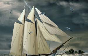 白桦:诗歌《船》