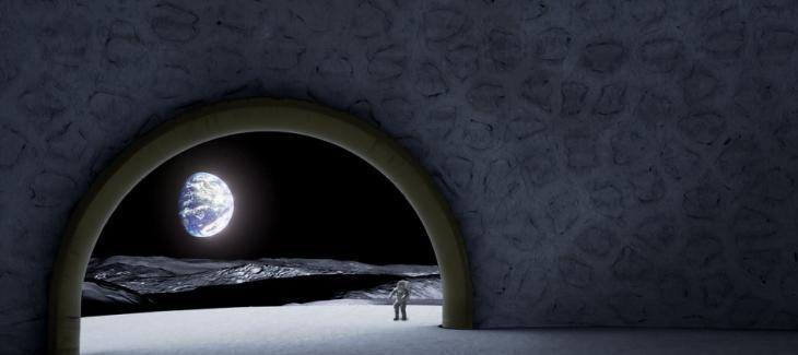 3D打印在月球