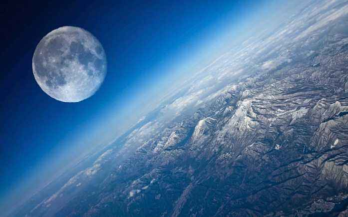 人学网 宇宙探索 星球史记 月亮的阴晴圆缺图1