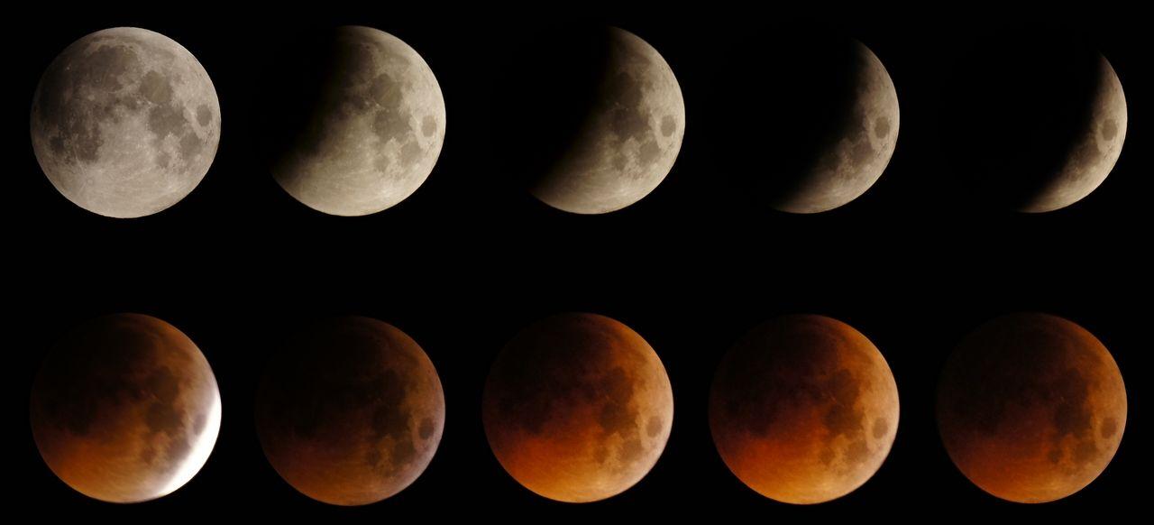 人学网 宇宙探索 星球史记 月亮的阴晴圆缺图3