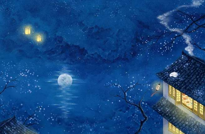 人学网 宇宙探索 星球史记 唐朝人如何观察月亮图1