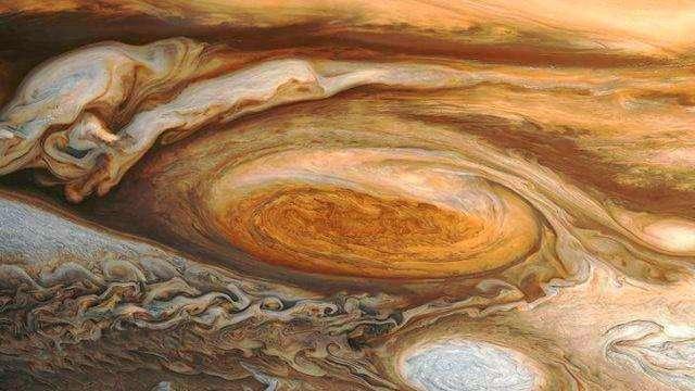 人学网 宇宙探索 星球史记 木星红斑